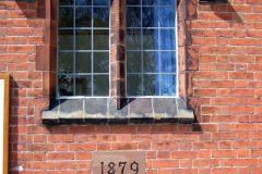 Building plaque 1879
