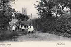 Black Steet looking north 1910