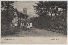 Church Street with children