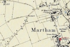 Providence Yard,  Black Street map c1880