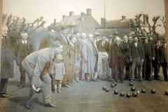 Bowls at the King's Arms, date unknown