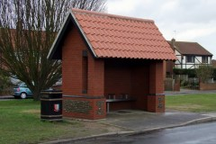 Repps Road bus shelter