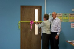 Community Centre extension opened 27.5.2013
