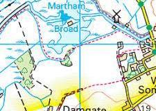 Damgate-map