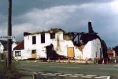 Gables fire damaged 1990