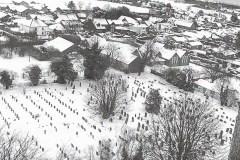 Graveyard-aerial-view-in-snow