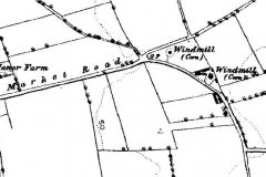 Hemsby Road/Market Road map c1890