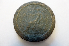 Cartwheel penny 1797. Reverse.