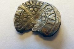 Edward I silver penny. 1301-1307. Reverse.