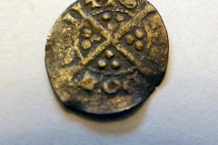 Edward silver farthing. 1272-1461. Reverse.