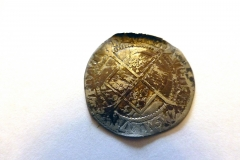 Elizabeth I. 6d. 1567. Reverse.