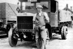 Kirby lorry at Railway Station