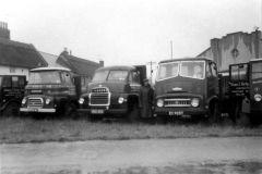 Kirby lorries on Village Green
