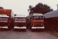 Kirby's Yard 1980s