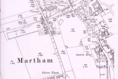 Martham-House-1881-OS-map