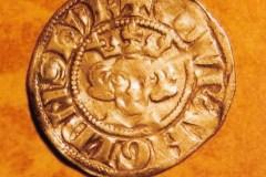 Edward 1 silver penny. 1272-1307