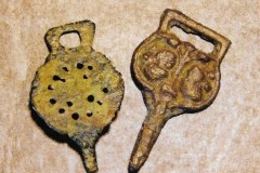 Medieval clothes hooks