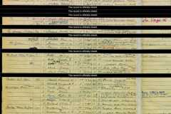 1939 Register Martham TRAL 165 to 176