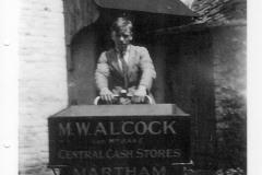 Alcocks delivery bike c1930