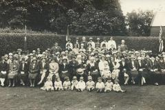 1920's Mothers Union with Rev Griffiths at Brooklyn House