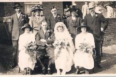 Alfred Harriss & Helen Tooke wedding 27.8.1924
