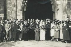 Alfred Southgate & Olive Whiting marriage