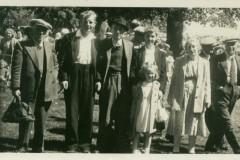 Bernie Jeary & Warnes family