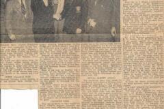 Darts Team 22.2.1957
