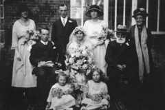 Ernest Jeary & Olgar Dean wedding 1920
