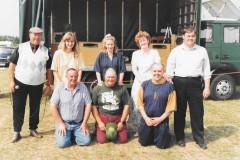 Martham folk at Hemsby 8.7.1995.