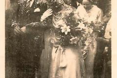 Reggie Grimmer & Mary Sadler wedding 1937