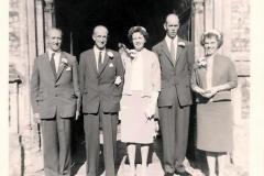 Robert Randell & Joan Symonds marriage 1961