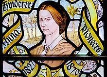 Anna Hinderer stained glass at Liverpool-Cathedral
