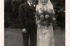 Frederick & Vera Cooper, nee Harriss  wedding 1944