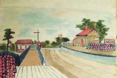 Station fruit barrels by Kathleen Fathers