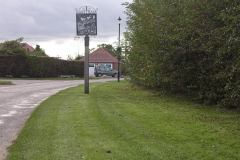 Welcome Sign. Rollesby Road