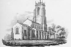 St Mary's Church sketch