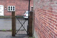 New church gates - White Street
