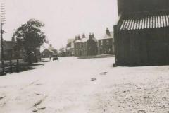 1930 Snow in August village centre