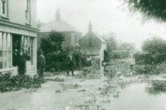 White Street floods 1912